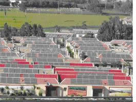 Outdoor Rooftop Solar Power Supply System Designing Scheme